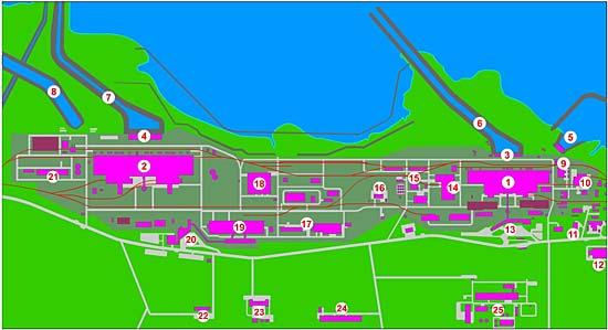 Generální plán elektrárny